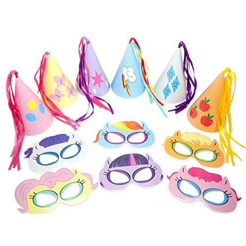 Little Pony Colorful Masks Party