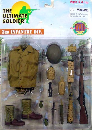 (Ultimate Soldier WWII 3rd Infanty Division Accessory Set)