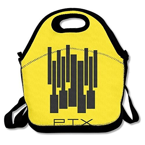 Pentatonix Sing Off Christmas - Pentatonix Lunch Bag Travel Zipper Organizer Bag, Waterproof Outdoor Travel Picnic Lunch Box Bag Tote With Zipper And Adjustable Crossbody Strap