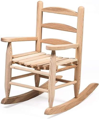 Lehman's Handcrafted Eli Mattie Amish-Made Children's Rocking Chair
