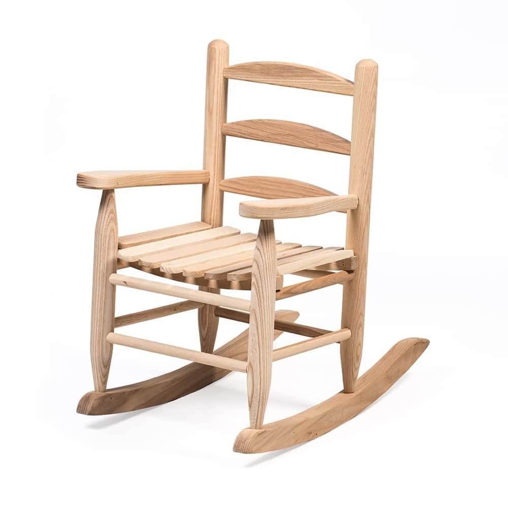 Handcrafted Eli & Mattie Amish-Made Children's Rocking Chair