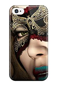 New Style Iphone 4/4s Case Slim [ultra Fit] Masquerade Babe Protective Case Cover 7761690K79174401