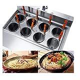 JIAWANSHUN Commercial 8 Baskets Noodles Cooker