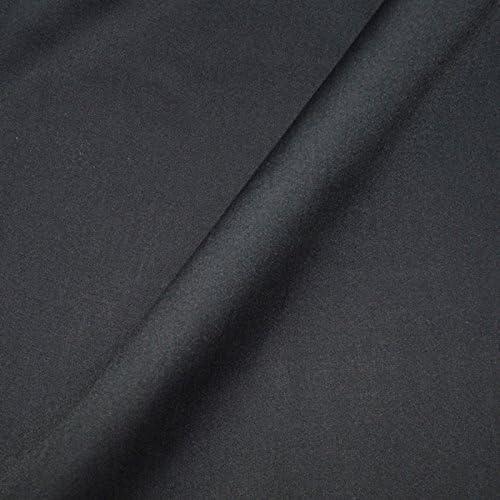 Tejido popelín algodón negra Coupon 3 metros – 3 M tela 100% algodón negro...: Amazon.es: Hogar