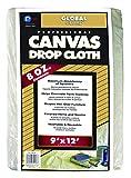 Premier 9' x 12' Standard Canvas Drop Cloth 8 oz, 39128