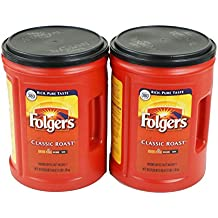 Folgers Coffee, Classic Roast, 48 Ounce, 2 Pack