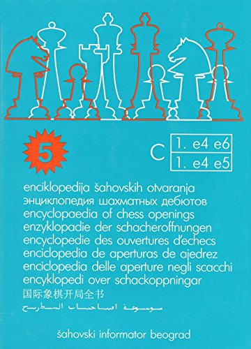 Encyclopedia of Chess Openings - BOOK C