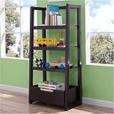 Delta Children Gateway Ladder Shelf - Dark Chocolate