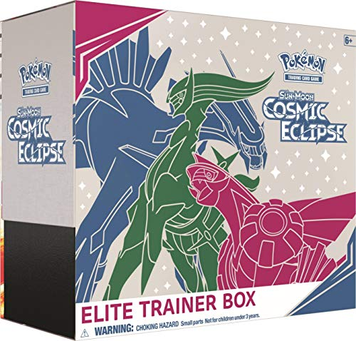 Pokemon TCG: Sun & Moon-Cosmic Eclipse Elite Trainer Box