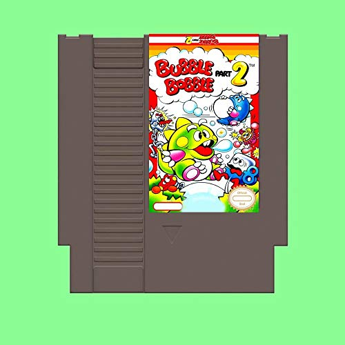 ASMGroup 72 pin 8 bit game Bubble Bobble 2 Game Card For 72 Pin 8 Bit Game Player