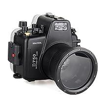 EACHSHOT Waterproof Underwater Camera Housing Case Diving Equipment 60m/195ft for Nikon D750