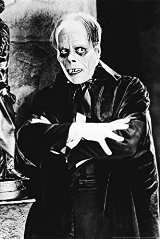 24x36 Poster Print Phantom of the Opera (1925) Lon Chaney (Classic Scary Movie Posters)
