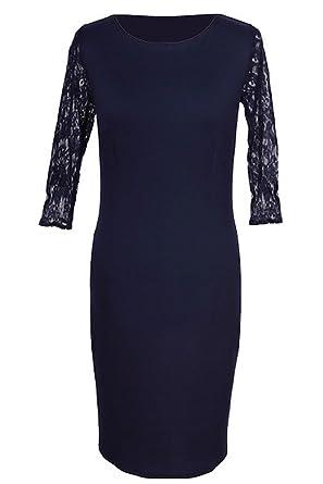 Kleid dunkelblau 48