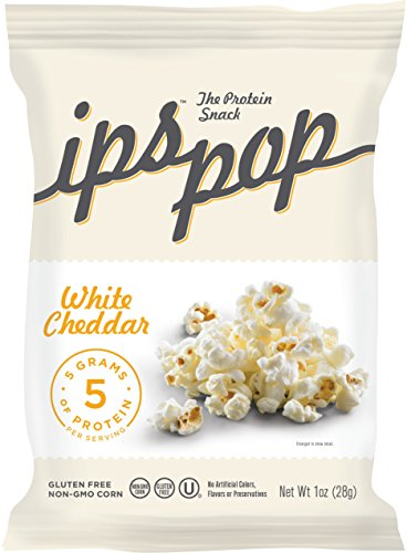 Ips Protein Pop, White Cheddar, 1 Ounce (Pack of 24)