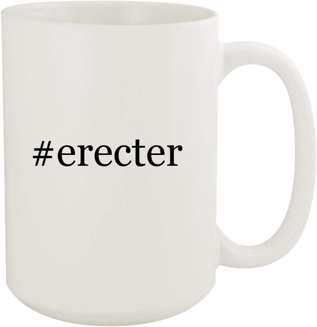 #erecter - 15oz Hashtag White Ceramic Coffee Mug