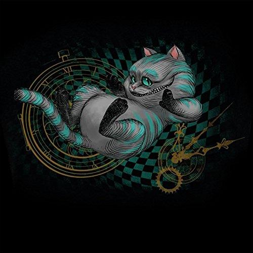 Alice im Wunderland T-Shirt Damen About Time schwarz - XXL