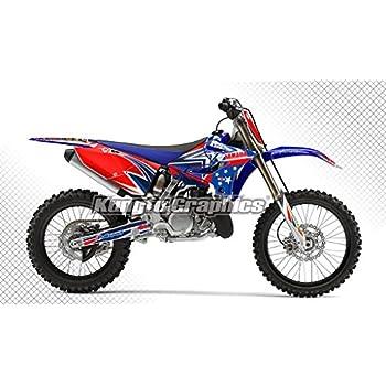 Amazon com: Kungfu Graphics Custom Decal Kit for Yamaha