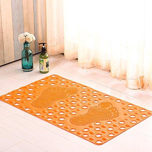 Slip De Salle Salle Maison PVC 47 Eau De Purple Mat 77Cm Bain Massage Multifonctionnel Orange Bains Non gPpqPwA
