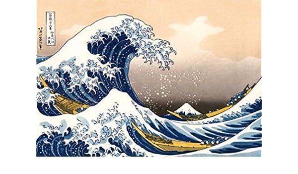 Amazoncom Katsushika Hokusai Poster Photo Wallpaper The