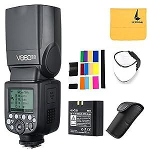 Godox V860II-O 2.4G TTL Li-on Battery Camera Flash Speedlite Compatible Olympus Panasonic Cameras