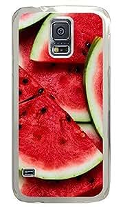 Samsung Galaxy S5 Watermelon PC Custom Samsung Galaxy S5 Case Cover Transparent
