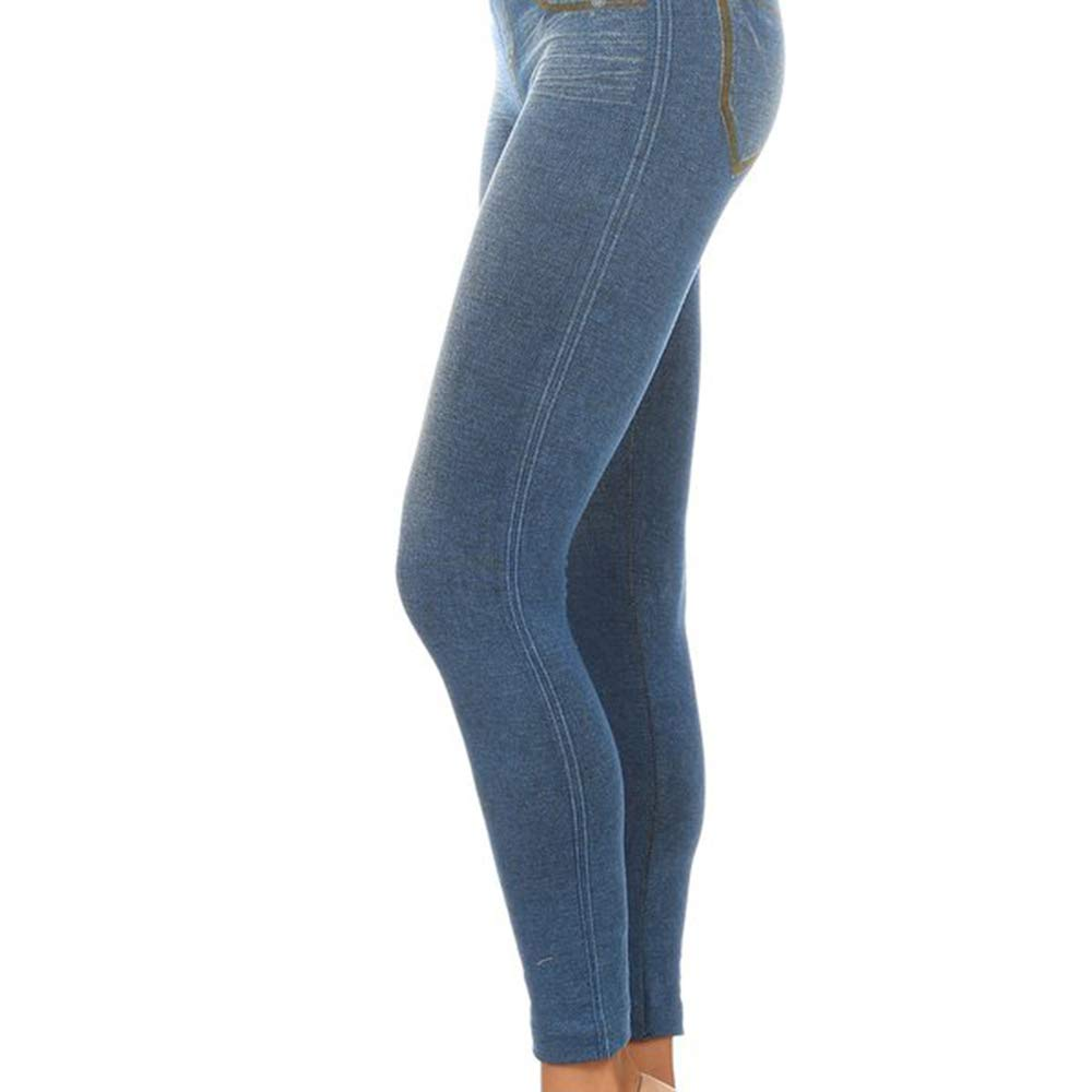 a17c9884fbe40 Activewear Clothes Maternity Jeggings Women's Jersey Maternity Leggings  (Blue/Rust) at Amazon Women's Clothing store: