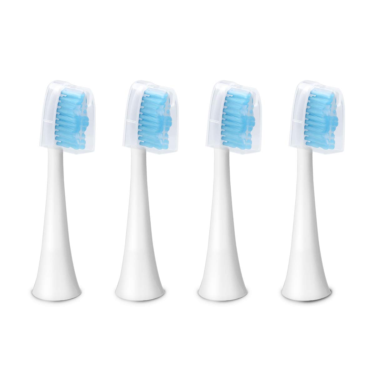 Electric Toothbrush Heads, Replacement Head for CoiTek CK-H01 4PCS Set