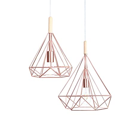 KADONNY Vintage Lámpara Colgante de Luz de Techo Industrial ...