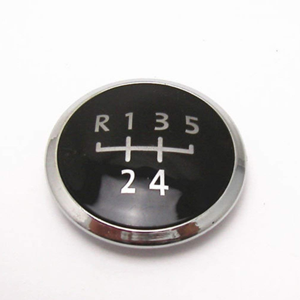 KinshopS 5 Speed Gear Knob Emblem Badge Cap For VW Transporter T5//T6 GP