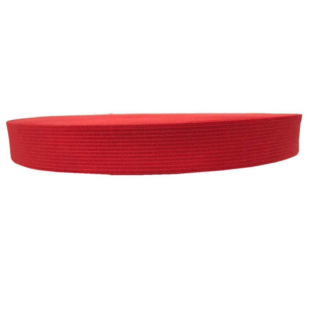 Bobina de cinta el/ástica de 20 mm de ancho y 25 yardas de alto el/ástico para coser #01