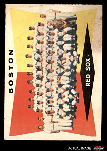 1960 Topps # 537 Red Sox Team Checklist Boston Red Sox (Baseball Card) Dean's Cards 2 - GOOD Red - 1960 Topps Checklist