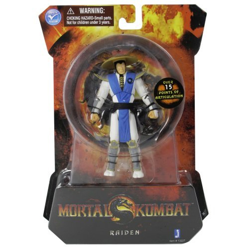 Mortal Kombat MK9 4 Inch Action Figure Raiden by Jazwares Toys