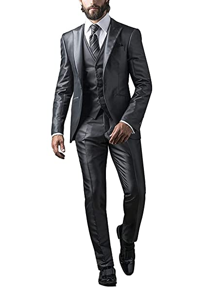 Amazon.com: Faithclover - Traje de hombre grande y alto para ...