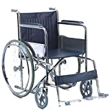 Kosmocare Economy Dura Rexine Spoke Wheel Regular Foldable Wheelchair