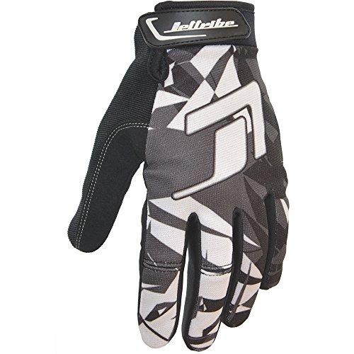 (GP-30 Jet Ski Ride Gloves - Shattered PWC Race Gear (Grey, XX-Large))