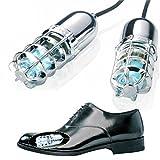 Ultraviolet (UV) Shoe Sanitizers / Deodorizer / Boot Sterilizer / Kills Toenail Fungus (Silver)