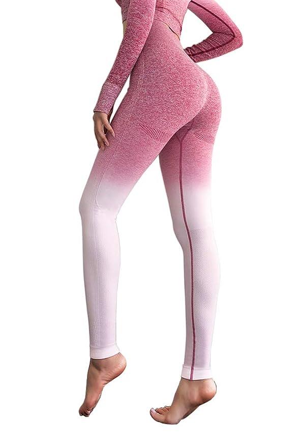 07afc8499e4 Amazon.com: MMIW COLLECTION Seamless High Waisted Gym Leggings for ...