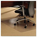 """Floortex Ultimat Polycarbonate Chair Mat for Carpets Over 1/2"""" Thick, 47""""x35"""", Rectangular, Clear (FC118927ER)"""