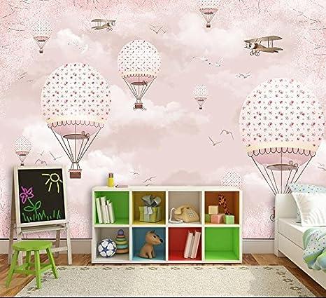 Fabulous Yosot Benutzerdefinierte 3D Tapete Kinderzimmer Rosa Mädchen Herz FS62