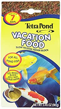 TetraPond  Vacation Food Slow Release Feeder Block 345 Ounce  16477