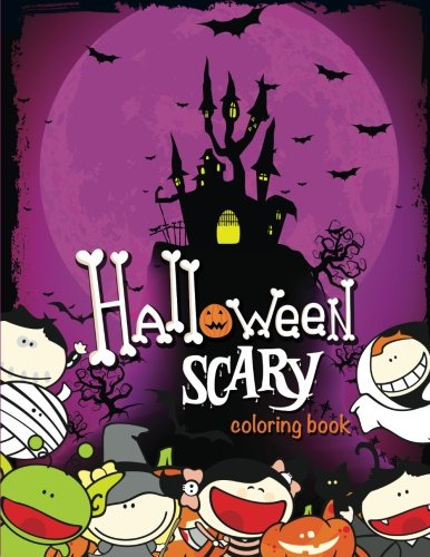 Halloween Scary Coloring Book -