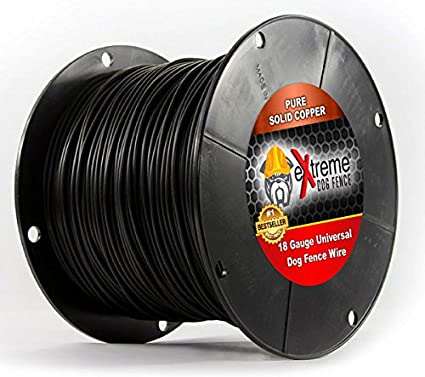 Amazon extreme dog fence 18 gauge 1000 foot continuous spool extreme dog fence 18 gauge 1000 foot continuous spool of brand electric in ground dog greentooth Gallery
