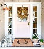DearHouse 22 inch Fall Wreath Front Door Wreath