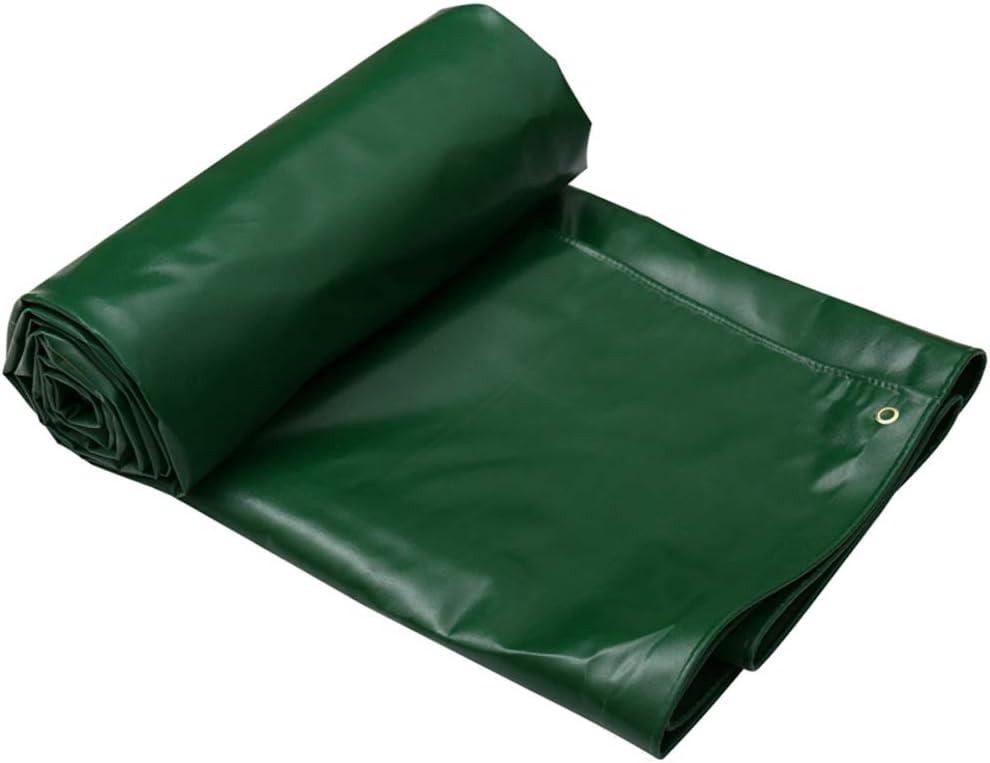 ターポリン肥厚防水シート屋外の日陰布キャンバストラックオイルクロス F2/6 (Size : 7X5M)
