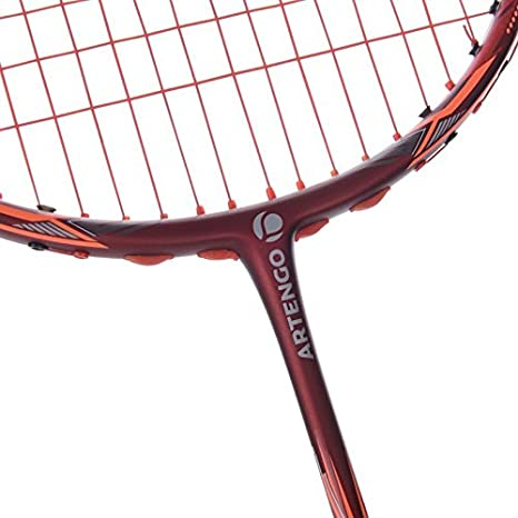 ffb7bd4e5 Buy ARTENGO BR990 P BADMINTON RACKET - BURGUNDY RED Online at Low Prices in  India - Amazon.in