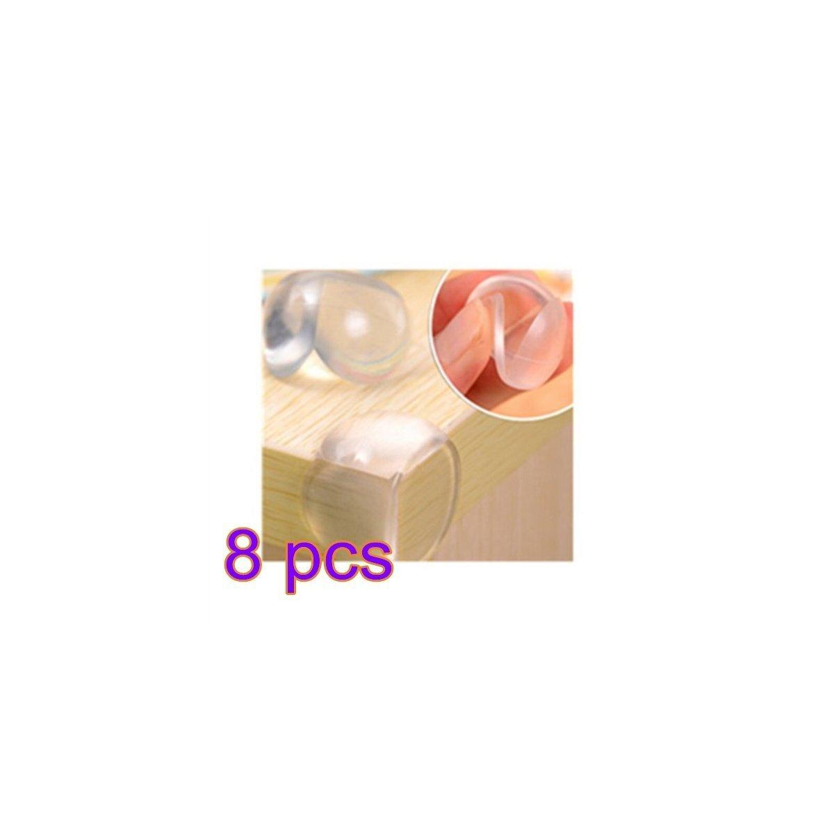 8 pcs Asien Angles dangle pour Les Tables Bureaux et /étag/ères Protection dangle