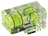 Cullmann CU 40678  Spirit Level Double Bubble Shoe Mount (Clear)