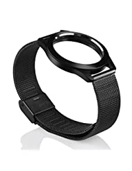 TOOPOOT Misfit Shine 2 Replacement Stainless Steel Wristband (black)