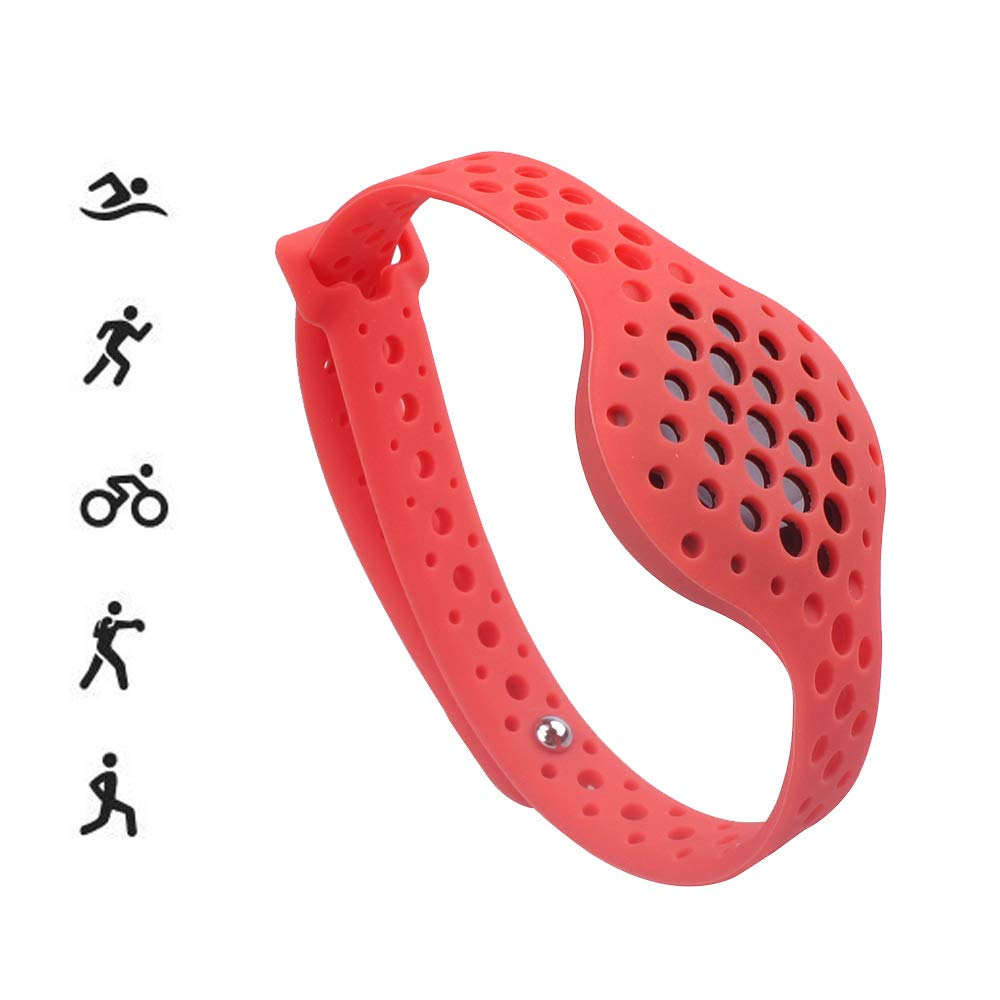 HWHMH Sport Silicone Replacement Breathable Strap Bands for Moov Now Fitness Tracker