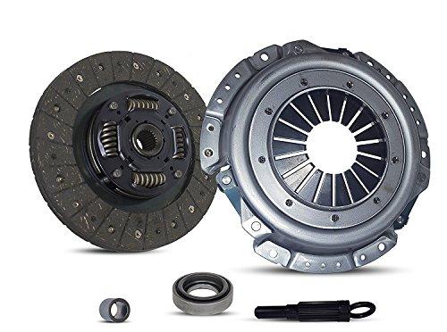 Clutch Kit Set For Nissan 240Sx Ka24De 2.4L 4Cyl Gas (C1500 Suburban Clutch Flywheel)